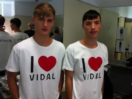 Sassoon models remembering and loving Vidal