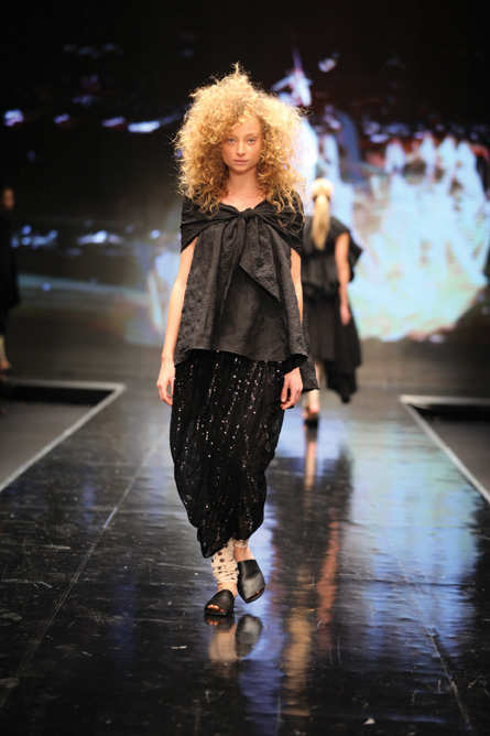 Photo by Avi Valman from Tel Aviv Fashion Weekly Sasoon Kedem Show.