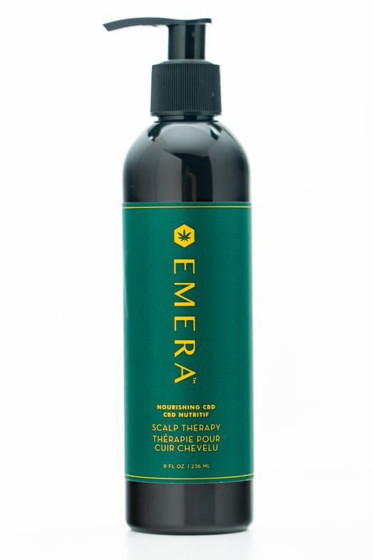 <p><em>As the only professional salon treatment with hemp CBD oil, EMERA Nourishing CBD Scalp Therapy helps restore the scalp balance needed for healthy hair growth.</em></p>