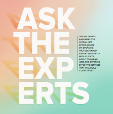 Ask the Experts: Speaking Professionally About Hair Loss