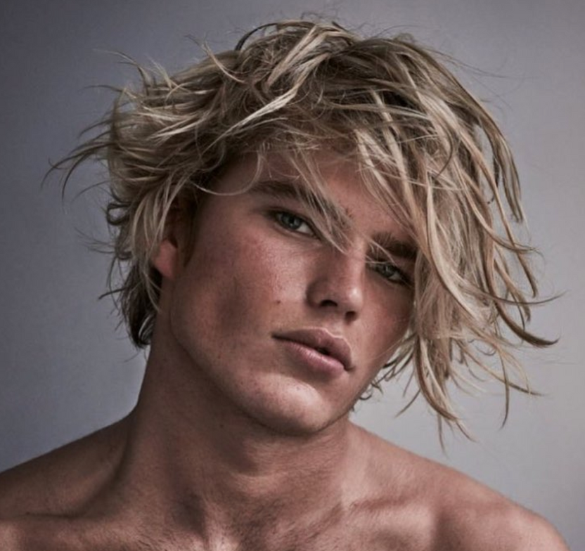 Beach blonde from Ryan Pearl at Cutler Soho.