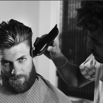Blind Barber Teams with Pro Baseball Player Bryce Harper