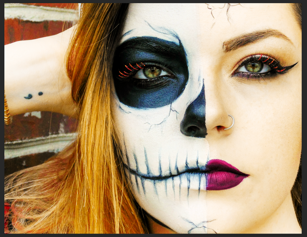 <p><strong>NovaLash Ambassador Brigitte Sargent collaborated with her client on this spooky Halloween makeup.</strong></p>