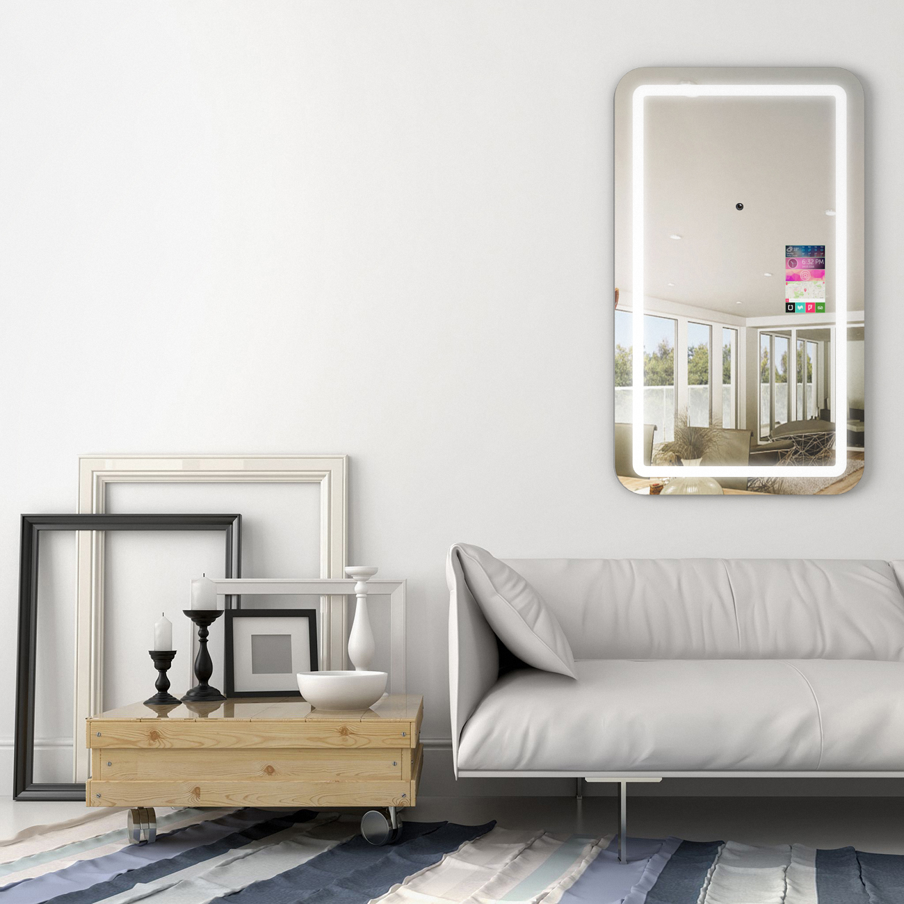 This Mirror Takes a Selfie FOR YOU! Stylists - Your Clients Will Love This!