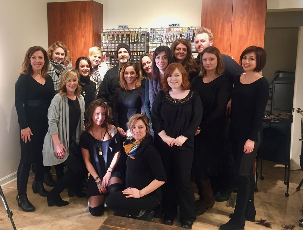 The team from Sereni Salon & Spa in Hudson, MA.