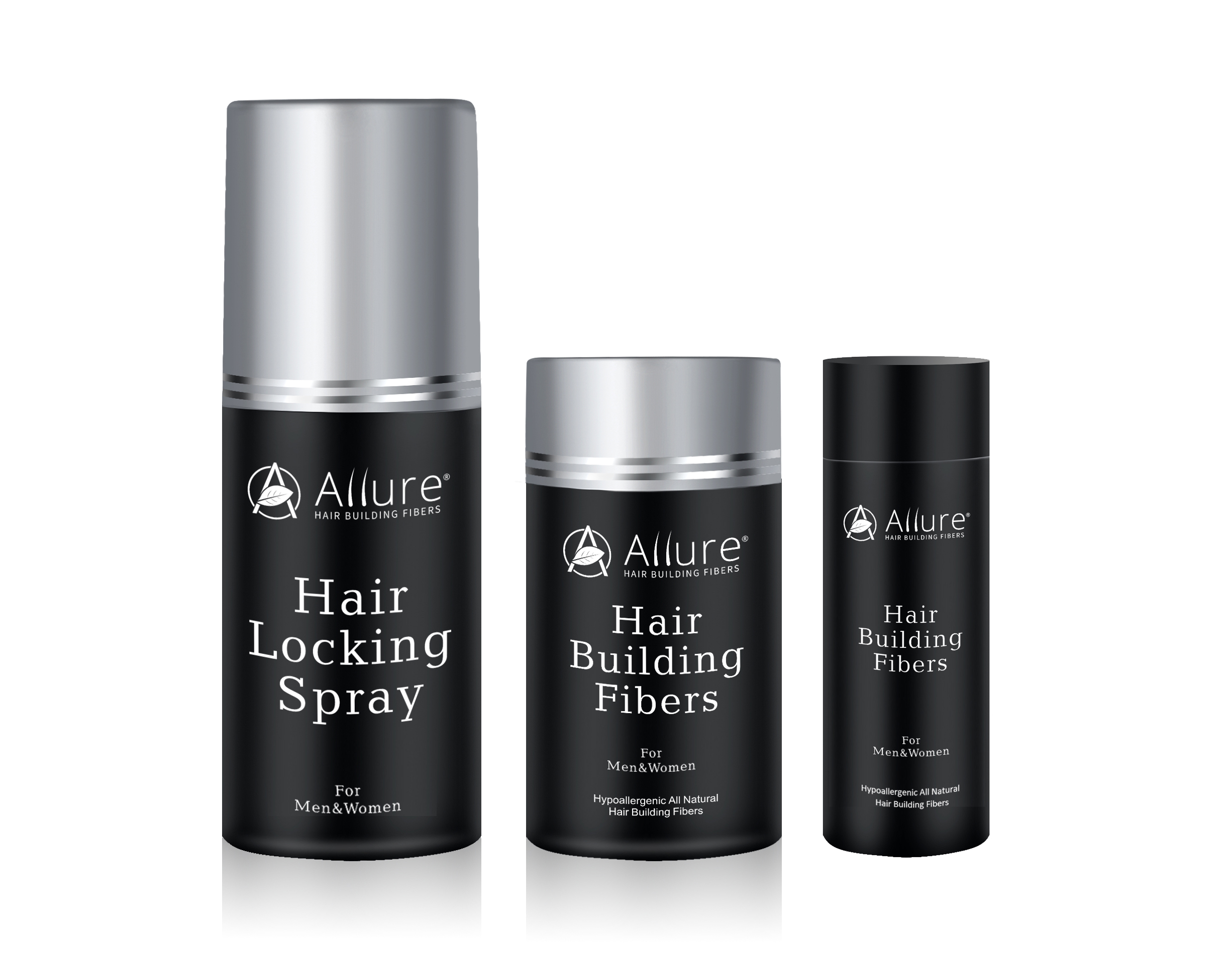 Allure Hair Building Fibers Launches New All-Natural Hypoallergenic Hair Loss Solution