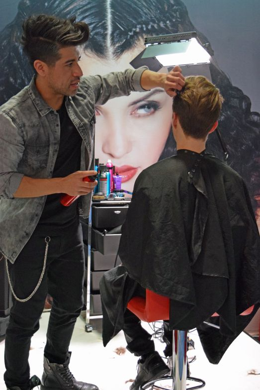 Sexy Hair education at ISSE.