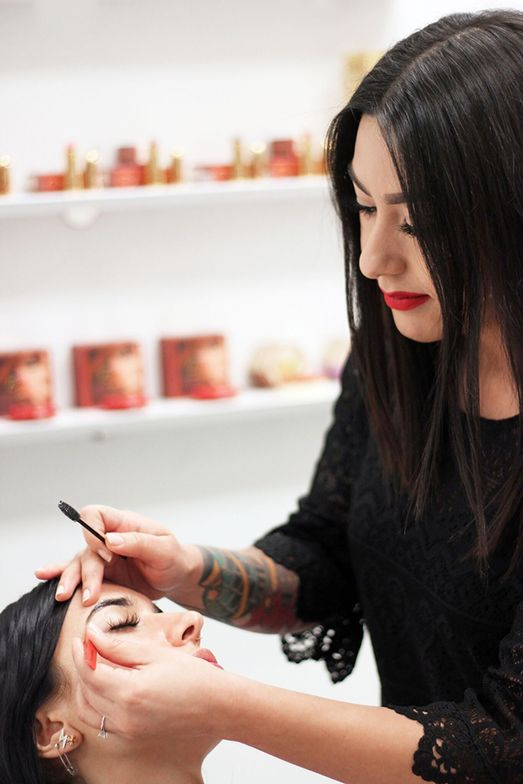 <strong>Shaila Paredes, Brows by Shaila, Los Angeles, CA</strong>