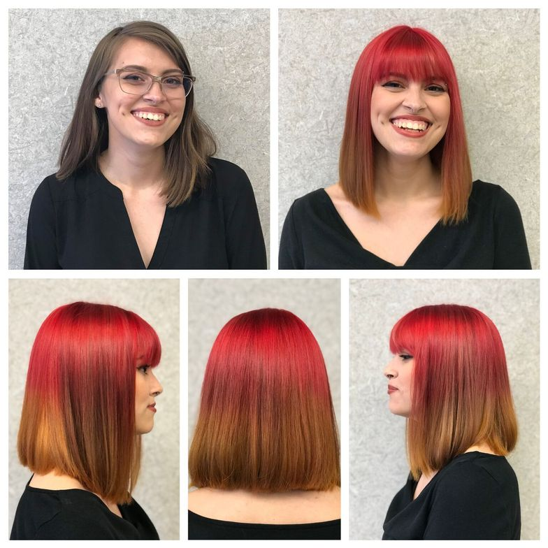 <p><strong>Shannon Russell won a grand prize in 2018 for this incredible color makeover. All hair color in the competition was created with Paul Mitchell theColor, POP XG and PM Shines, and all entries were done using Supercuts Color and Cutting techniques.  </strong></p>