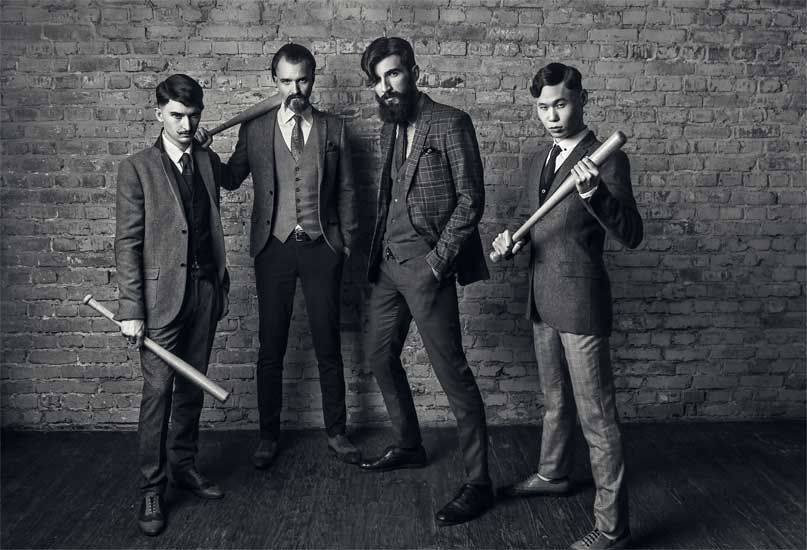 The Peaky Blinders fashioned after the 19th-century British gang.