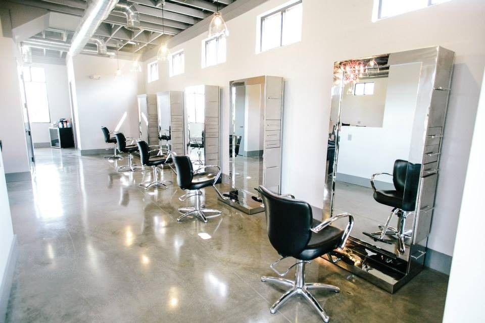 The styling floor at Signature Salon.