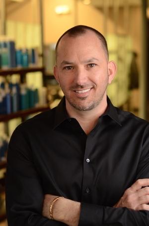 Damon Jaskolka, owner of Sky Salon in Strongville, OH.