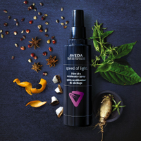 Aveda Launches Speed of Light Blow Dry Accelerator Spray