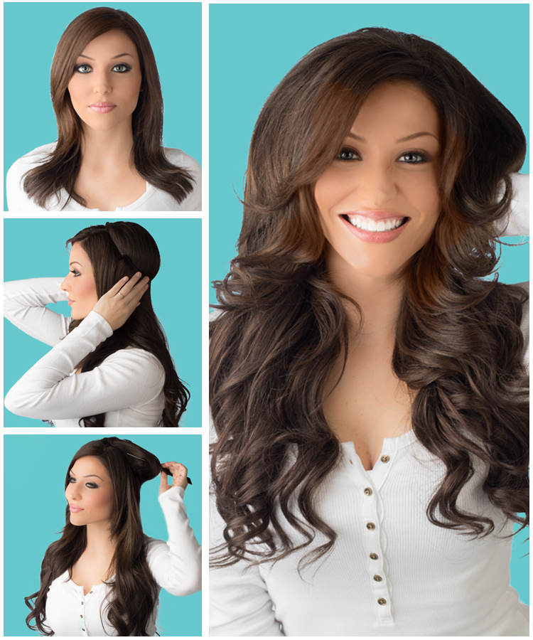 HOW-TO: Achieve Instant Volume and Length with HALOCOUTURE