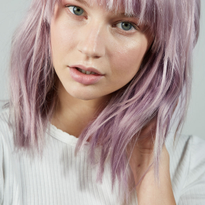 Hair Color: Lavender Steel