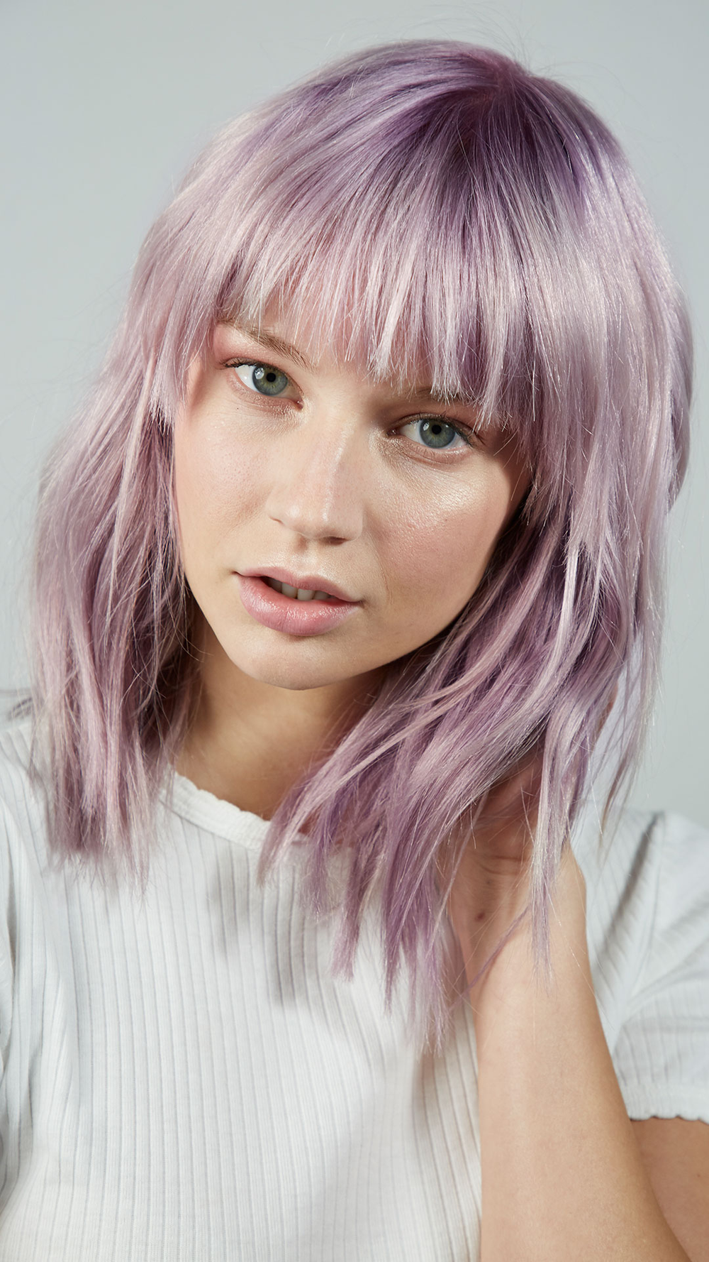<p><strong>Can purple hair be classy? Absolutely, says Paul Mitchell's Colin Caruso. Start by exploring the new Paul Mitchell The Demi Muted Metallics collection.</strong></p>