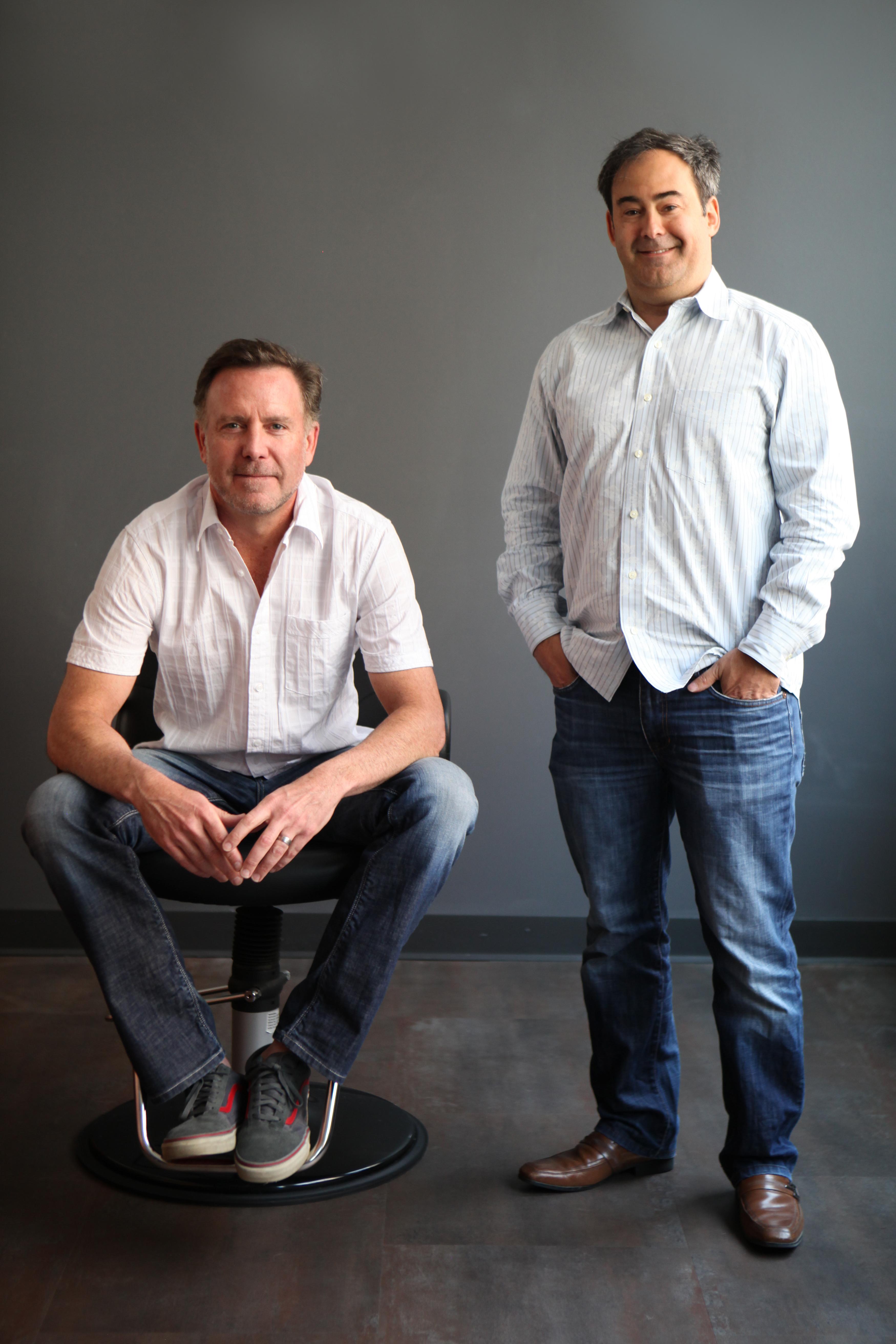 Sola Salon Studios founders Stratton Smith (left)and Matt Briger (right)