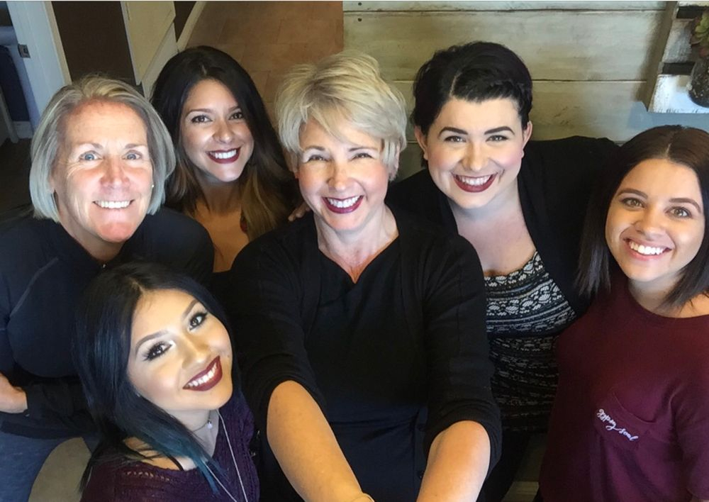 The team from Studio 700 Salon and Spa in Corona, CA.