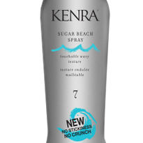 Create Summertime Texture with Kenra's Sugar Beach Spray