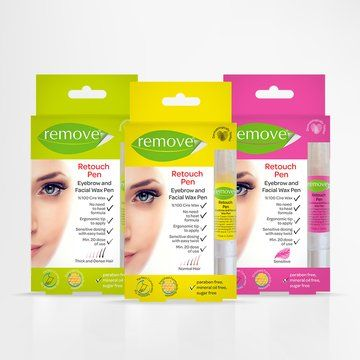 COSMOPROF: Treda HZU Tuketim Ur Sat Dag Ltd Sti. Remove Retouch Pen Facial Lipsoluble Wax