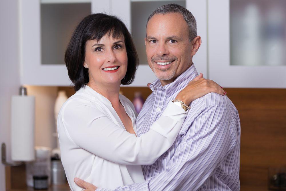 Lauren Hart and Samuel Sciotto, owners of The Root Salon in Phoenix, AZ.