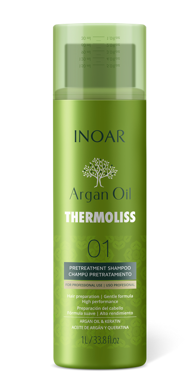 "<p>Step 1:&nbsp;<span class=""color_11"">Inoar Professionnel&#39;s Thermoliss Shampoo</span></p>"