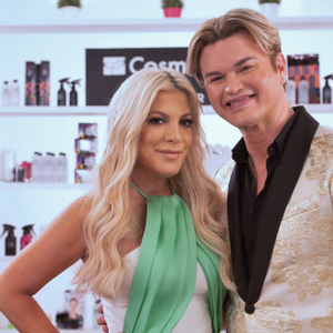 Hosts Tori Spelling and Kim Vo of The Look: All Stars