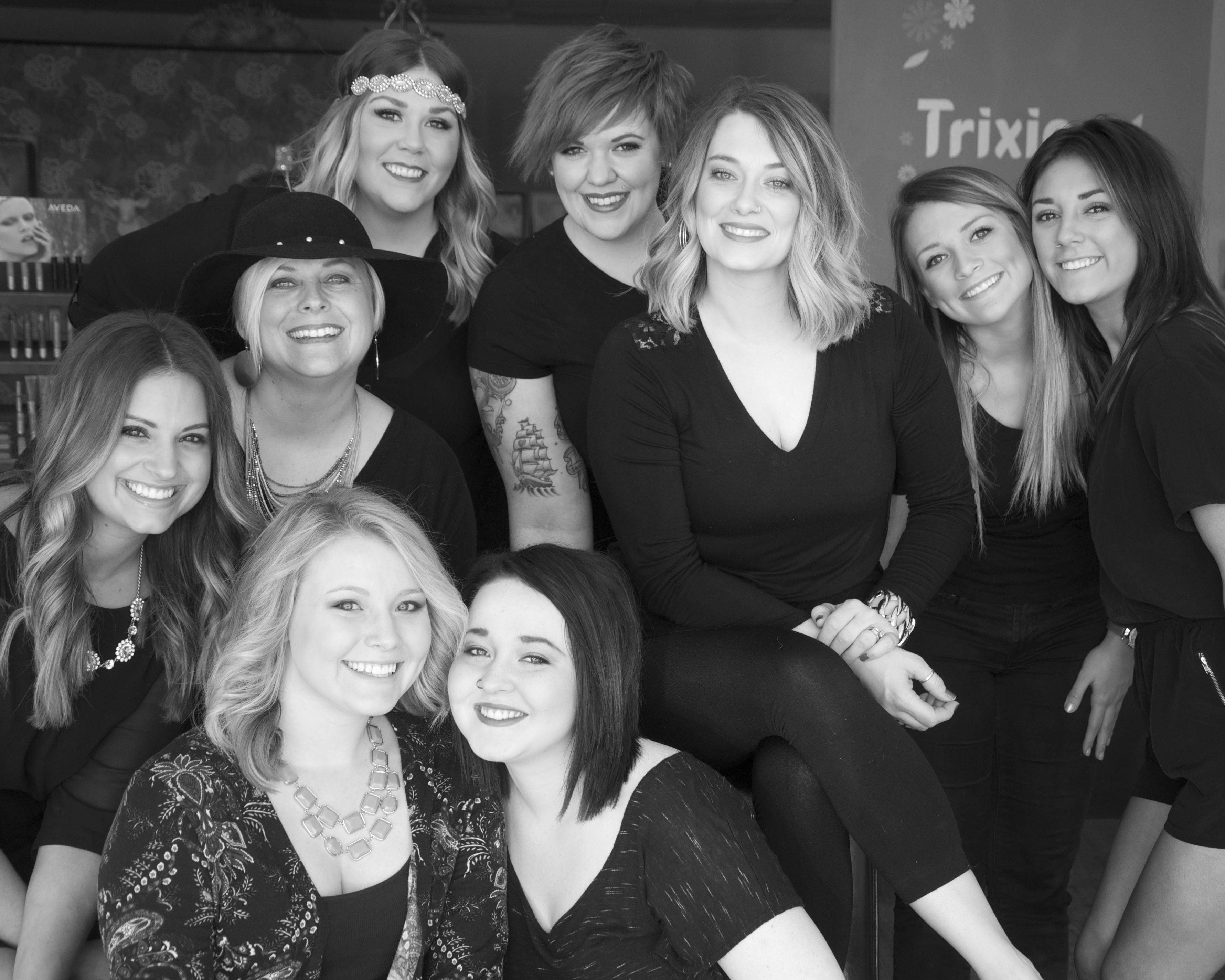At Trixies Salon in Des Moines, Iowa, the need to give back springs from the heart.