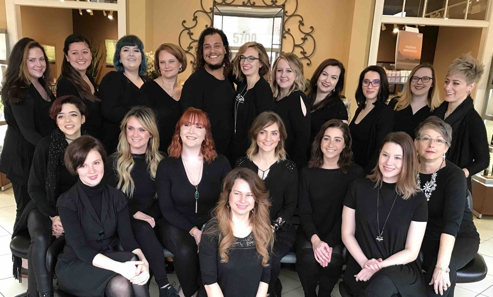 The team from Tulip Salon & Spa in Fredericksburg, VA.