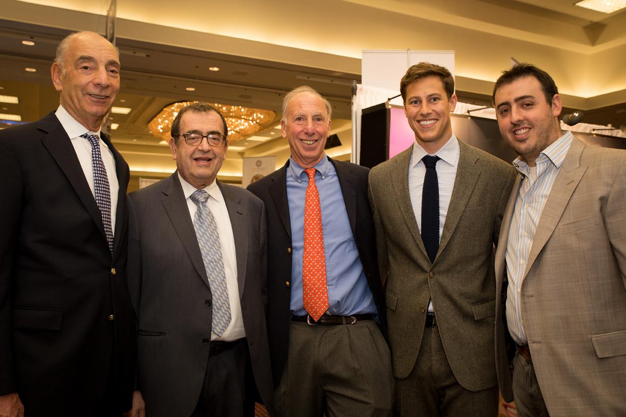 Pictured left to right: Gary Udell, Zvi Ryzman, Glenn Udell, Gerry Udell, Rafi Ryzman
