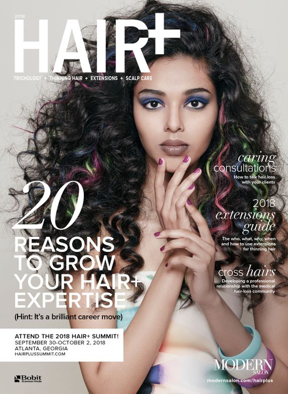 MODERN's Hair+ supplement, cover look created by Daniel Keane from the Spring 2018 ARTIST SESSION.<br />Photo: Roberto Ligresti.<br />Makeup: David Maderich<br />Fashionstying: Rod Novoa<br />Manicure: Julie Kandalec (using essie)