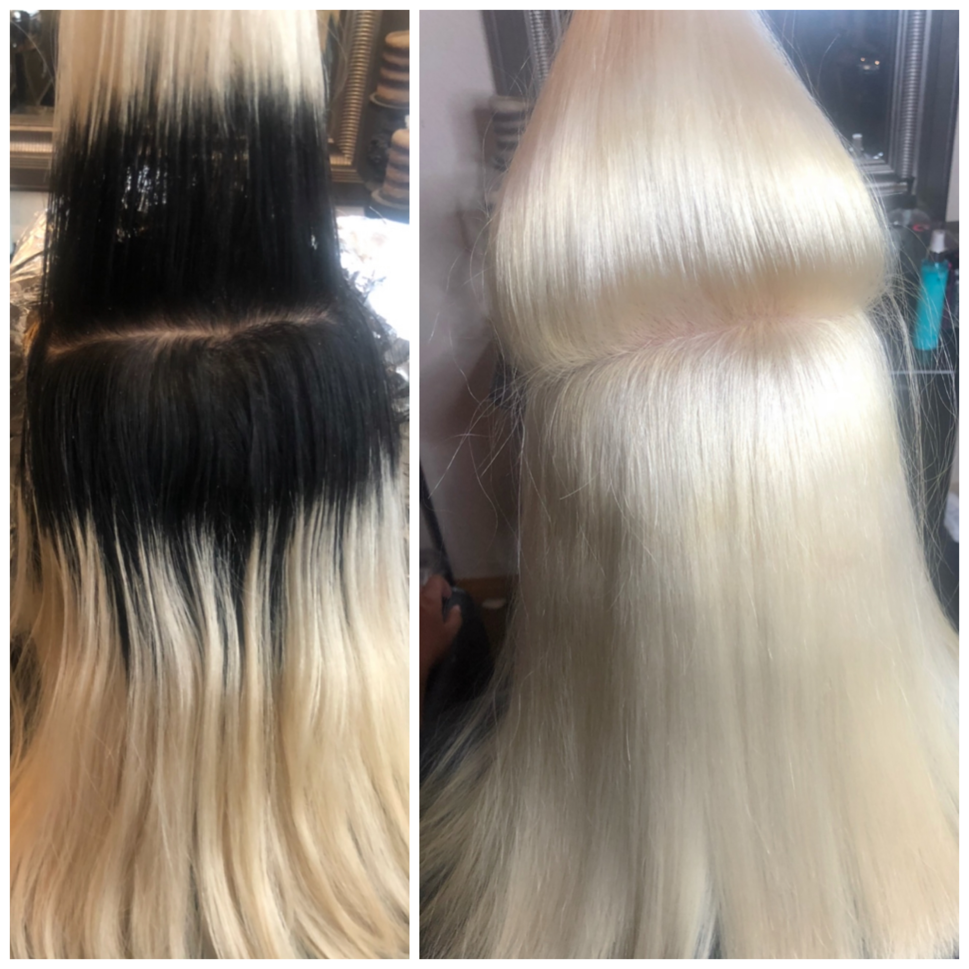 MAKEOVER: Uh-Oh to Icy Blonde