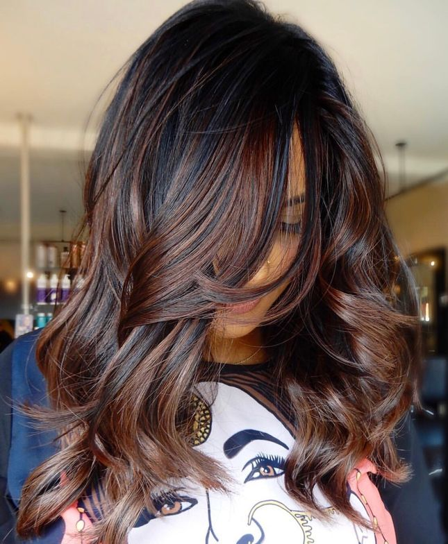"""<p>In this formula from <a href=""""https://www.instagram.com/hairby_kimberlyy/"""" rel=""""noopener"""" target=""""_blank""""><strong>Kimberly Bonondona</strong></a>, a blonde and balayage specialist (<a href=""""https://www.instagram.com/hairby_kimberlyy/"""" rel=""""noopener"""" target=""""_blank""""><strong>@hairby_kimberlyy</strong></a>) in Staten Island, New York, she converts a natural level-3 with old yellow-y highlights to the perfect fall shade she calls Cold Brew.</p>"""