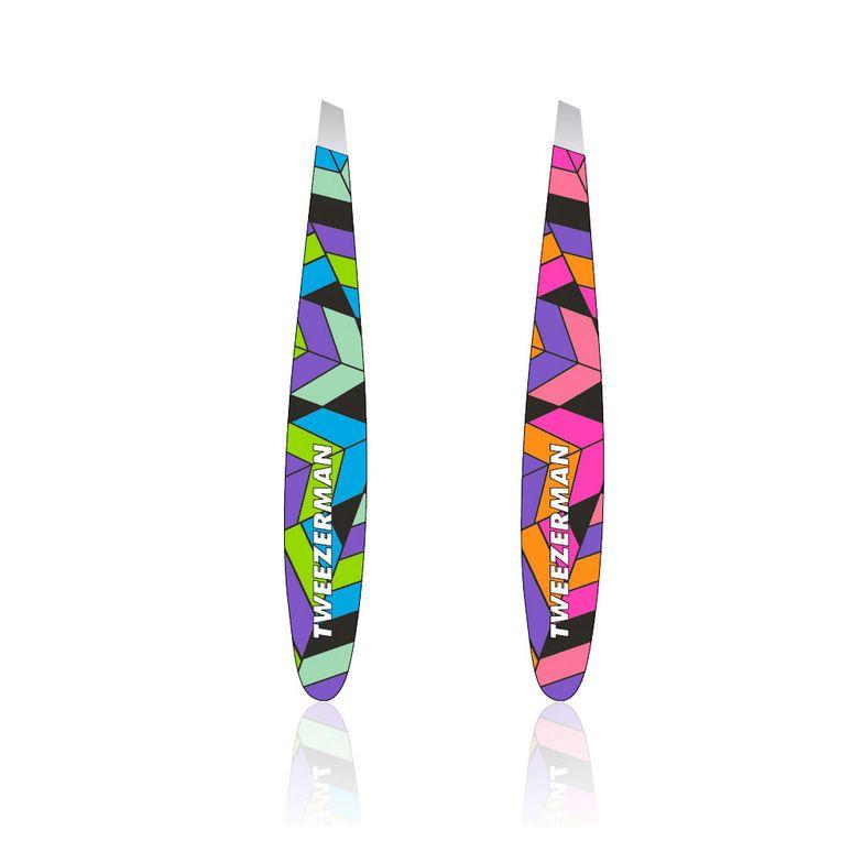 Aztec Rainbow Mini Slant Tweezers
