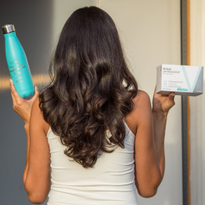 Enter for the chance to win a water bottle and three-month supply of Viviscal Professional...