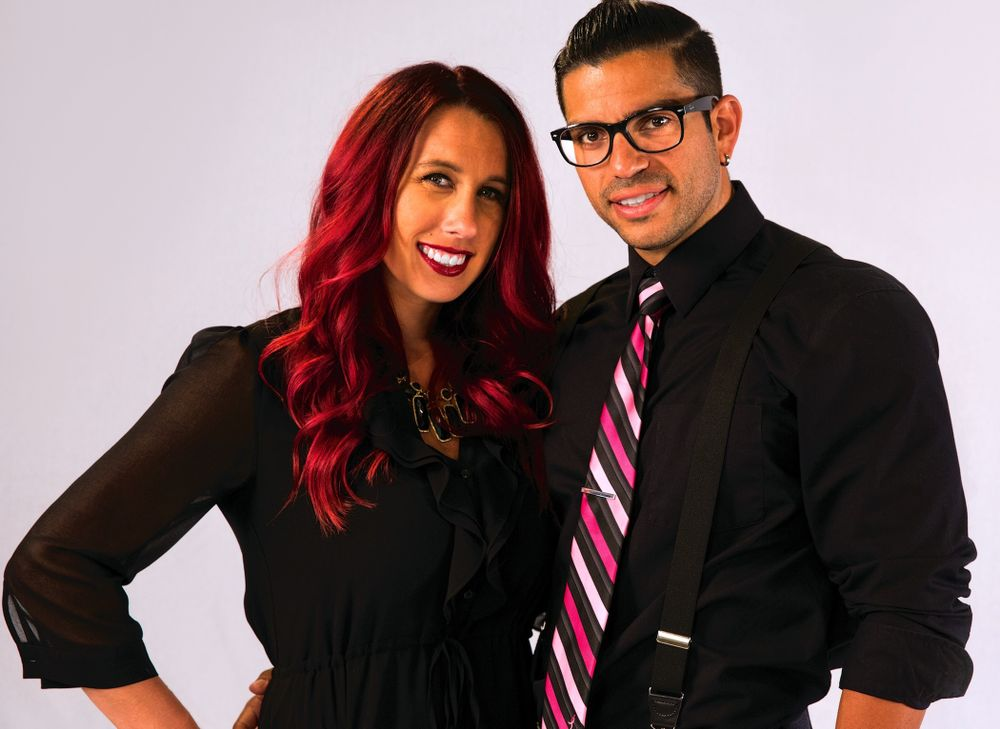 Ashlee and Armando Laya, owners of Voga Salon in Overland Park, KS.