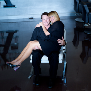 Amy Kott-Hovland and Kerry Hovland, owners of Von Anthony Salon in Frisco, Texas.