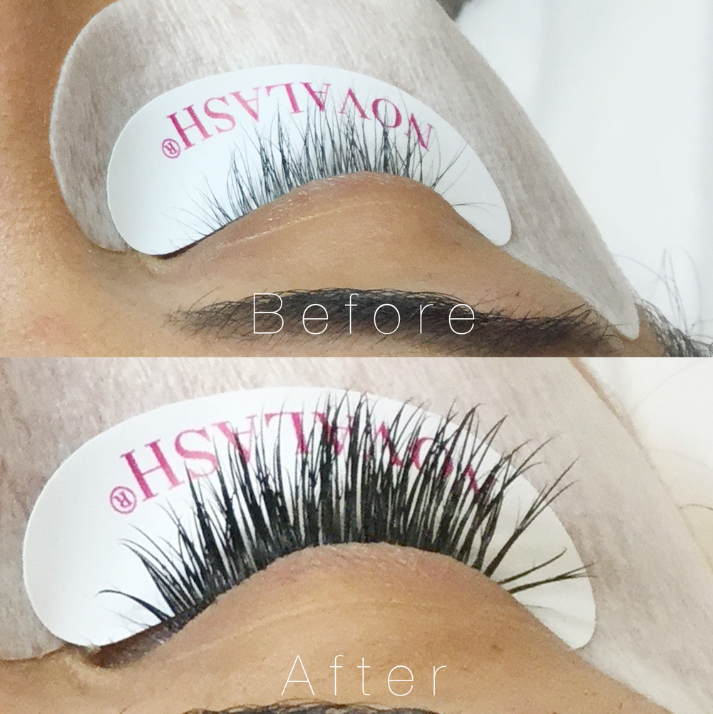 Before and after by Alison Colletti