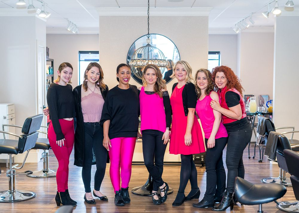 The team from Lola Hair Studio.