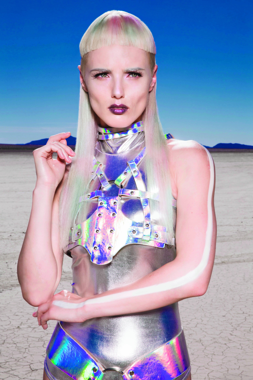 Color: Sonya Dove, Wella Professionals global creative artist Nicolas Troncin
