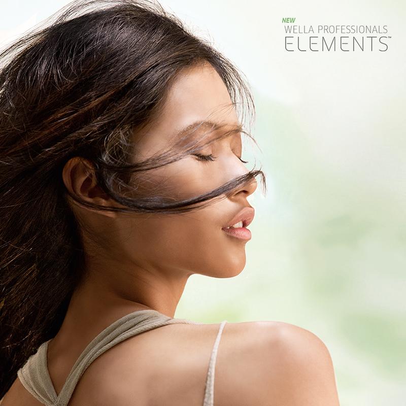 It's Elemental: Wella Elements Care Line Addresses Hair's Most Basic Needs