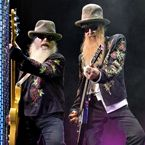 HAMMOND, IN - AUGUST 07:  Dusty Hill and Billy Gibbons of ZZ Top perform at the Horseshoe Casino on August 7, 2011 in Hammond, Indiana.  (Photo by Lyle A. Waisman/Getty Images)