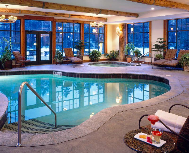 Indoor pool,Whiteface Lodge, New York