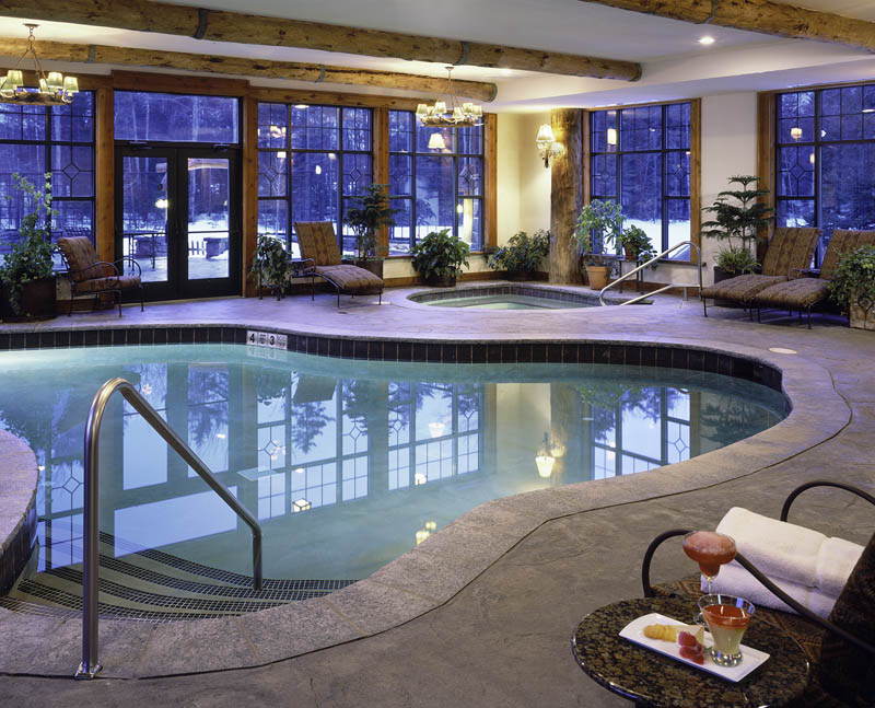 Indoor pool, Whiteface Lodge, New York