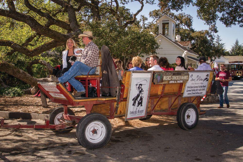 The Wine Wagon