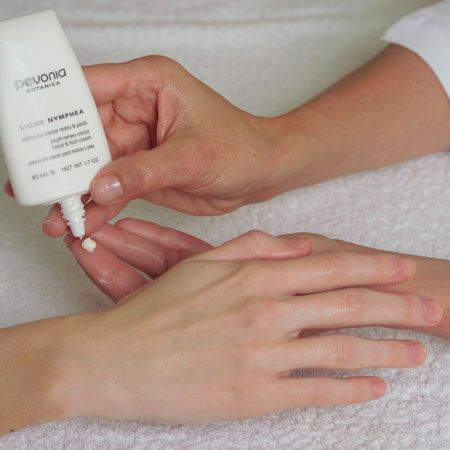 10. As a final step, apply a small quantity of Youth Renew Caviar Hand & Foot Cream. Massage gently until absorbed.