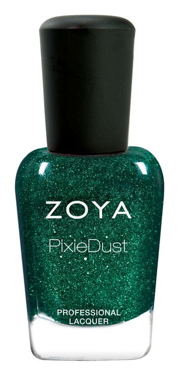 "<p>The ""Enchanted"" Holiday Collection from Zoya takes characters from your favorite fairy tales and transforms them into polish shades. This bewitching emerald green, called ""Elphie"" to embody the character from the musical <em>Wicked </em>of the same hue, will match the pines and mistletoes of holiday décor.</p>"