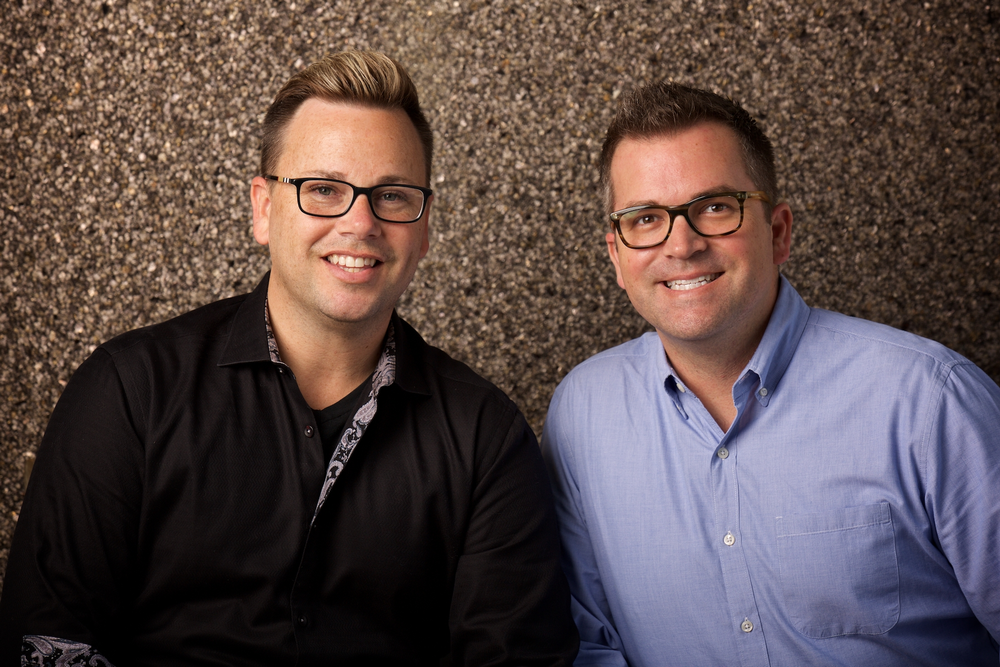 Beau Barbee and Drew Anderssen, owners of Z Studio in Tulsa, OK.