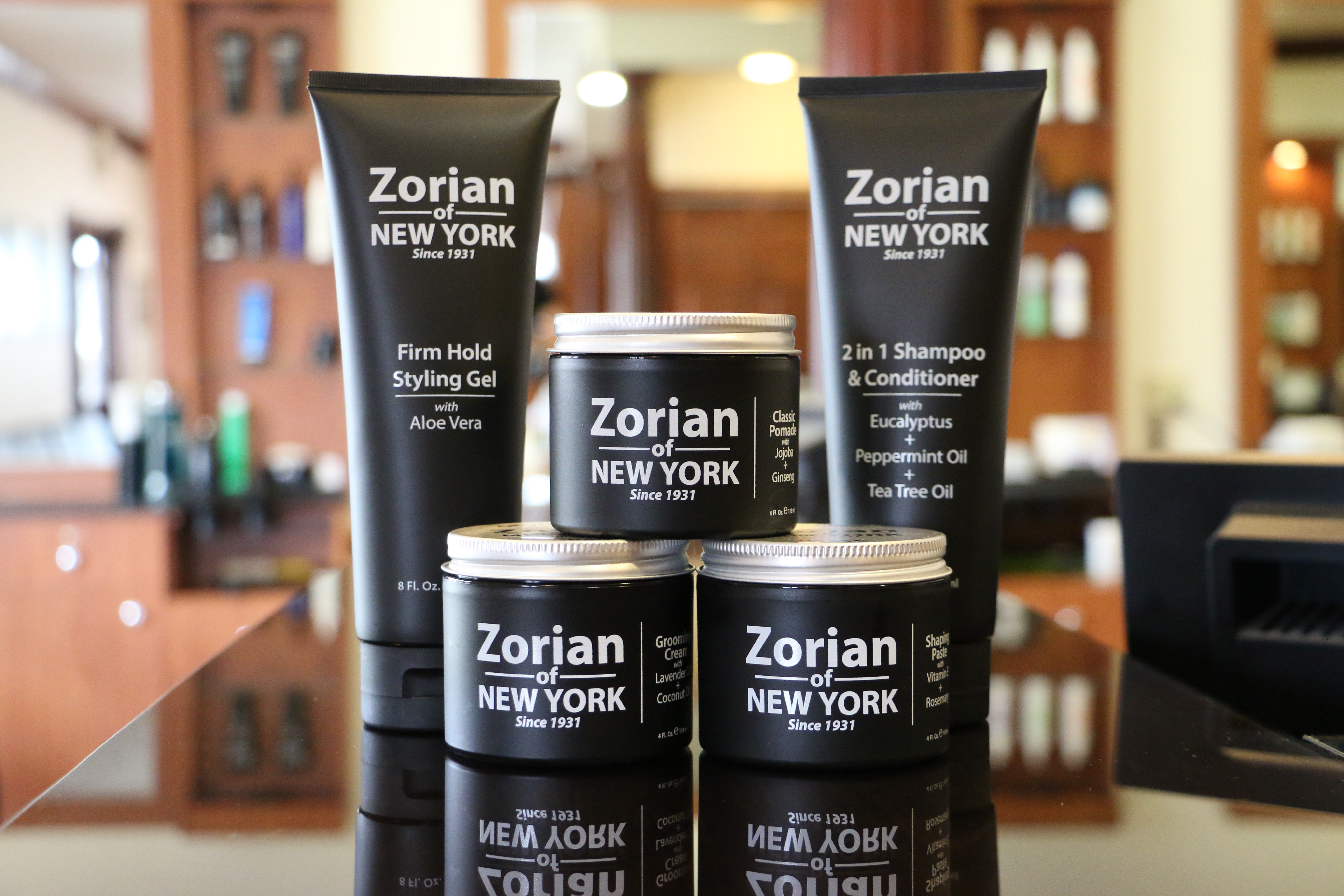 Zorian of New York: Men's Grooming Products by Master Barber Greg Zorian