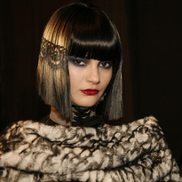 On the Runway: Lace Hair by Peter Gray